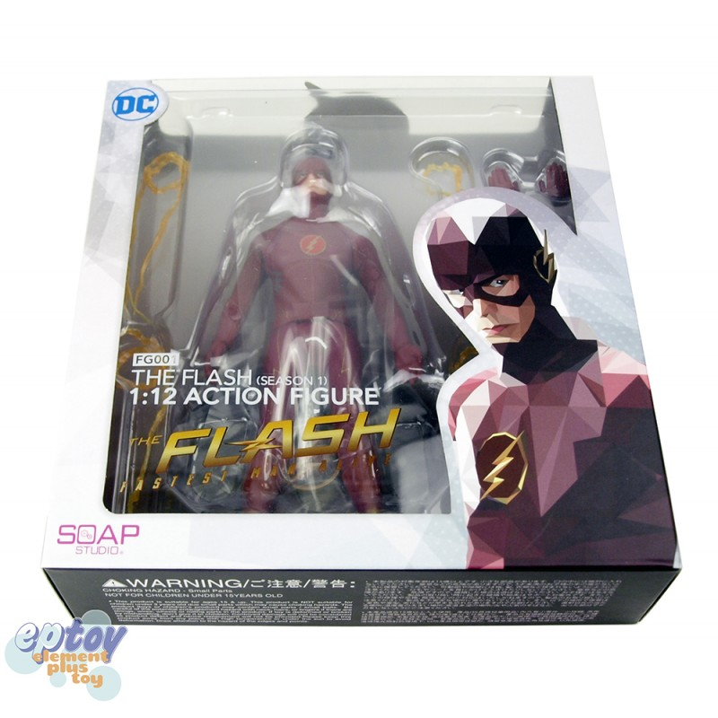Soap Studio DC Comics FG001 The Flash 1/12 Action Figure