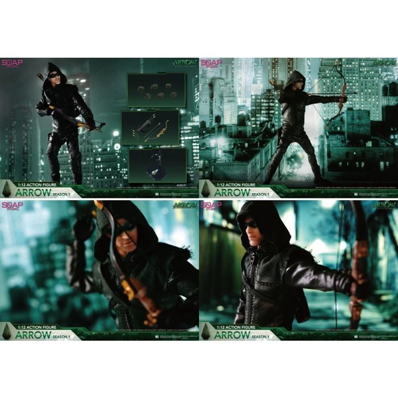 Soap Studio DC Comics FG002 Arrow 1/12 Action Figure