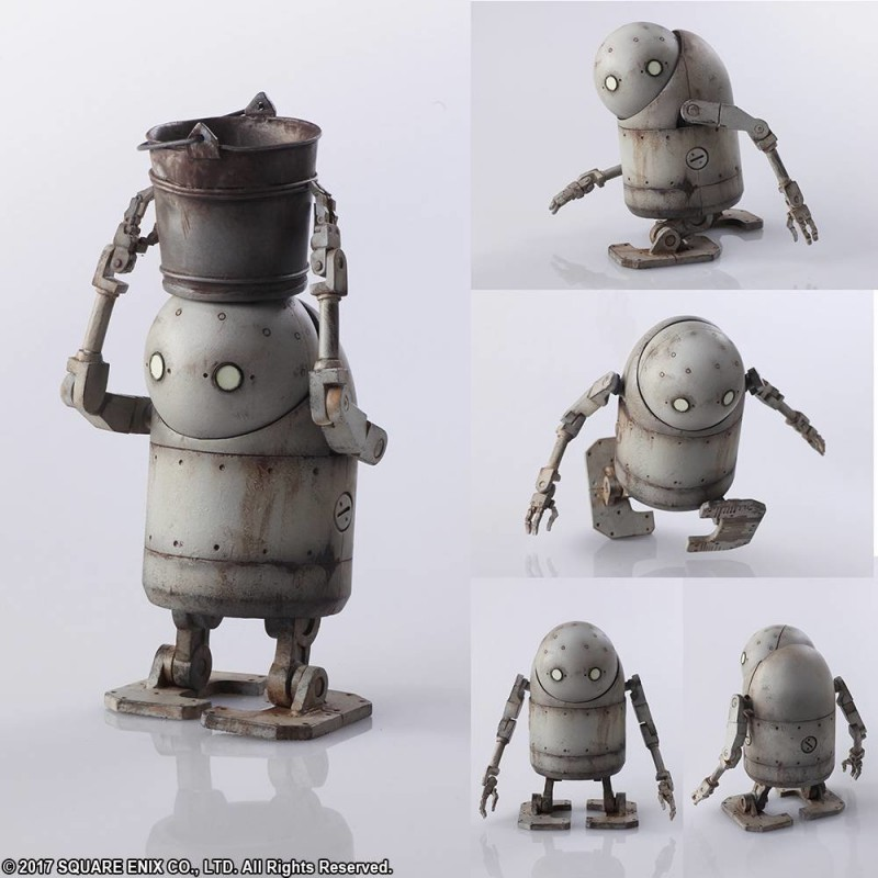 Square Enix NieR Automata Bring Arts 2B & Machine Lifeform Set
