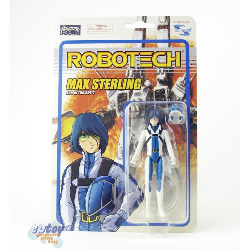 Toynami Macross Robotech Characters 4-inch Poseable Action Figures Set