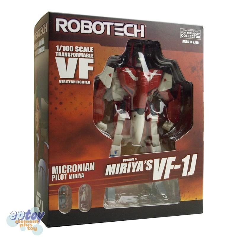 Toynami Macross Robotech 1/100 Scale Micronian Pilots Volume 5 Miriya's VF-1J