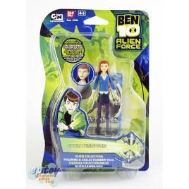Bandai BEN 10 Alien Force Alien Collection Gwen Tennyson