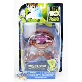 Bandai BEN 10 Alien Force DNA Alien Heroes Brain Storm