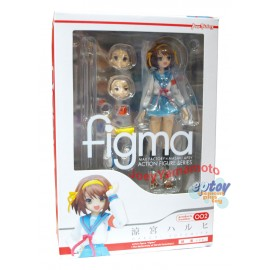 Figma 002 The Melancholy of Haruhi Suzumiya Haruhi Suzumiya Uniform Ver.