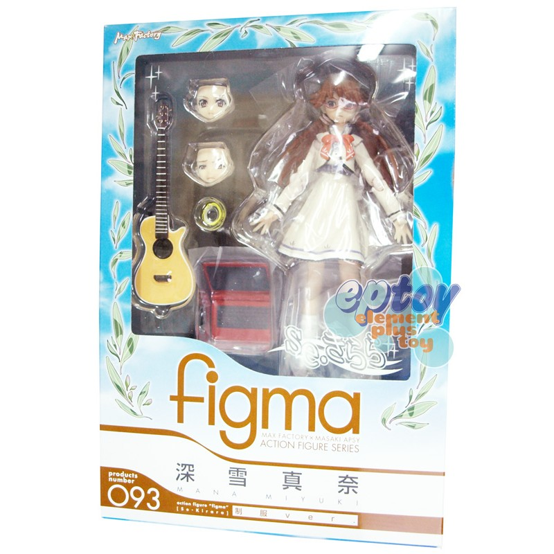 Figma 093 se-kirara Mana Miyuki Uniform Ver.