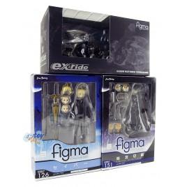 Figma Fate/Zero ex:ride Spride 05 Motored Cuirassier 126 Saber 151 Kiritsugu Emiya Set