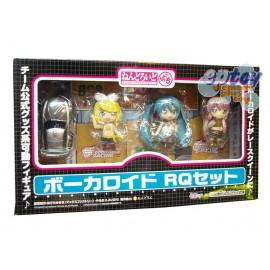 Nendoroid Petit Miku Hatsune Vocaloid Race Queen Set Black Ver.