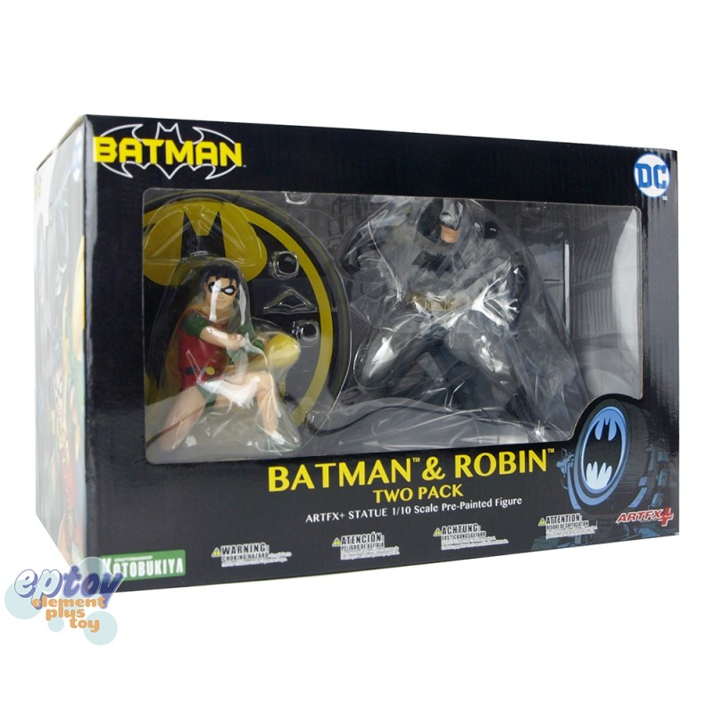 Kotobukiya ARTFX+ DC Comics Batman & Robin Two Pack
