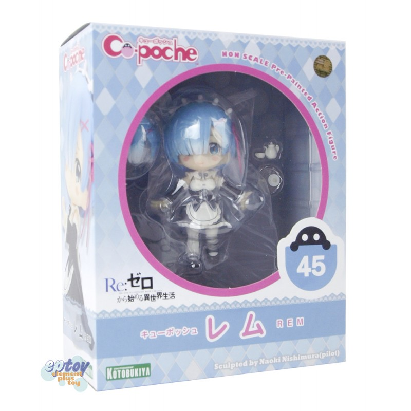 Kotobukiya Cu-poche 45 Re:Zero Starting Life in Another World Rem