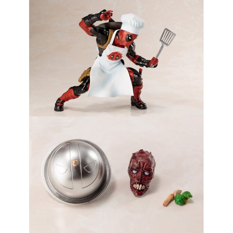 Kotobukiya ARTFX+STATUE Marvel Now Cooking Deadpool