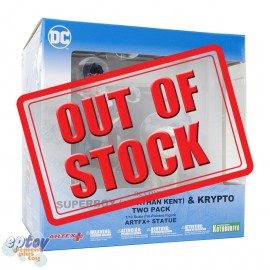 Kotobukiya ARTFX+ DC Comics Superboy Jonathan Kent & Krypto Two Pack