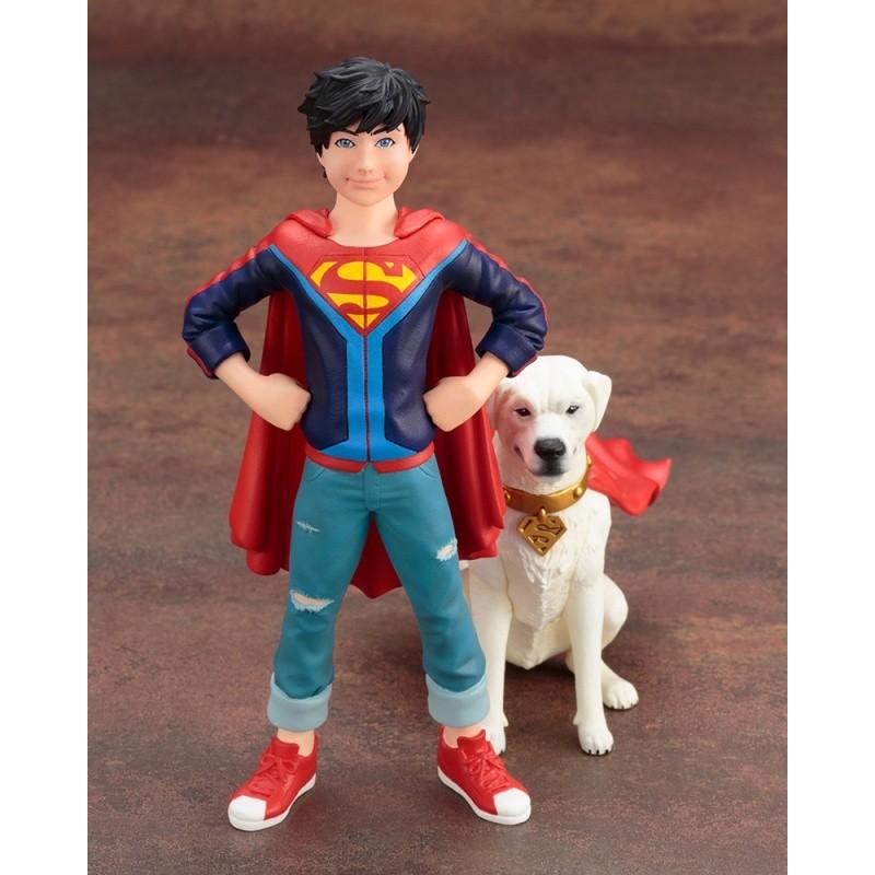Resultado de imagem para Kotobukiya Superboy Jonathan Kent e Krypto Two Pack