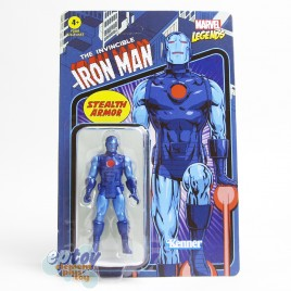 Marvel Legends Recollect Retro 3.75-inch The Invincible Stealth Iron Man