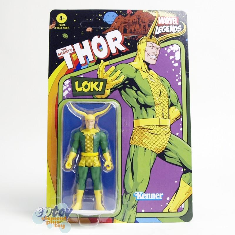 Marvel Legends Recollect Retro 3.75-inch U.S. Agent Storm Symbiote Spider-Man Loki Stealth Iron Man Silver Surfer Set