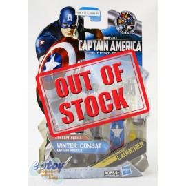 Marvel Captain America The First Avenger 3.75-inch Winter Combat Captain America