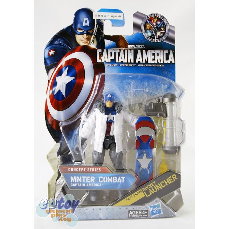 Marvel Captain America The First Avenger 3.75-inch Winter Combat Captain America