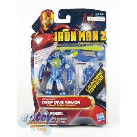 Marvel Iron Man 2 3.75-inch Iron Man Deep Dive Armor