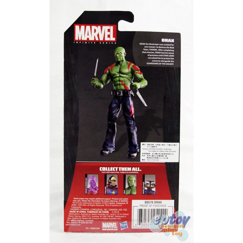 Marvel Infinite Series 3.75-inch Drax