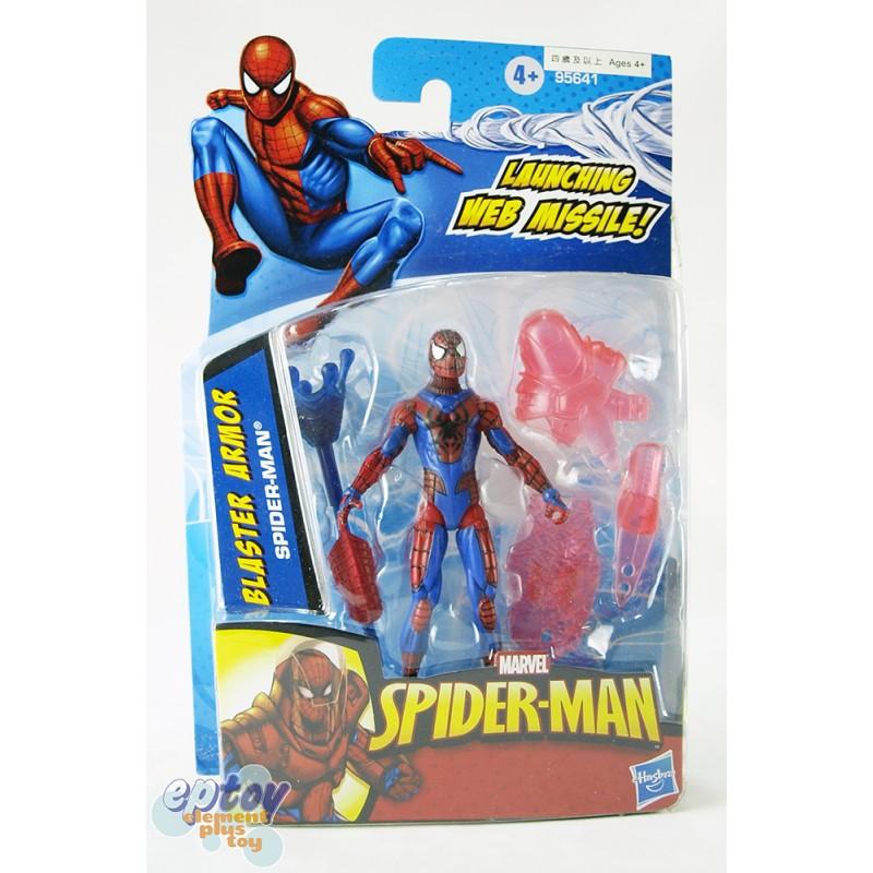 Marvel Spider-Man 3.75-inch Blaster Armor Spider-Man
