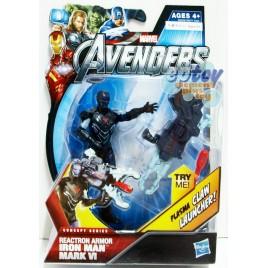 Marvel The Avengers 3.75-inch Reactron Armor Iron Man Mark VI