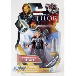 Marvel Thor The Mighty Avenger 3.75-inch Sword Spike Thor