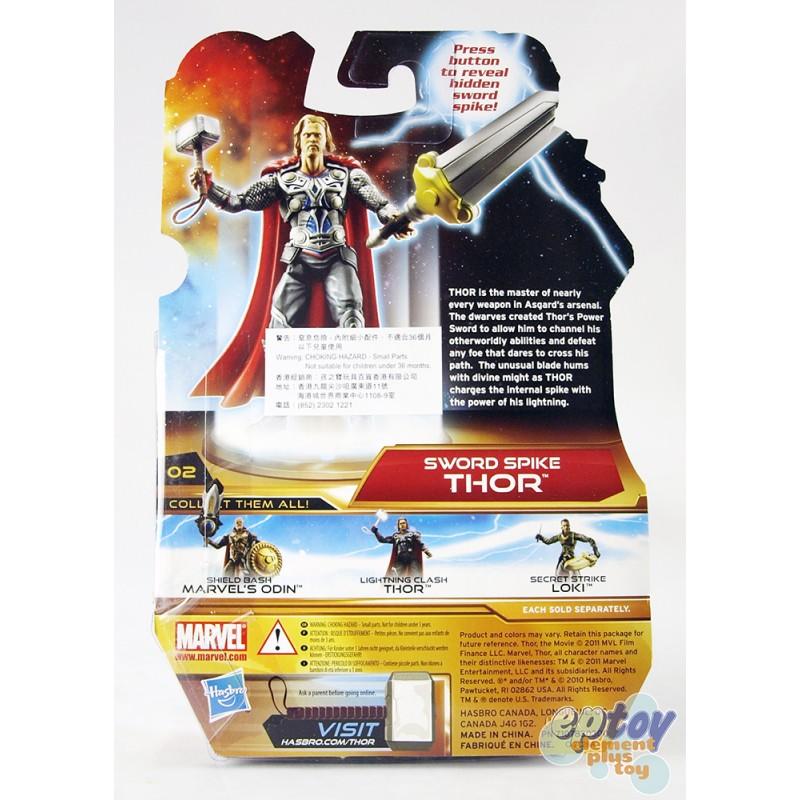 Marvel Thor The Mighty Avenger 3.75-inch Sword Spike Thor