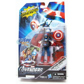 Marvel The Avengers 3.75-inch Captain America Aerial Infilltration Mission