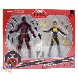 Marvel Legends Series 6-inch X-Men Deadpool & Negasonic Teenage Warhead