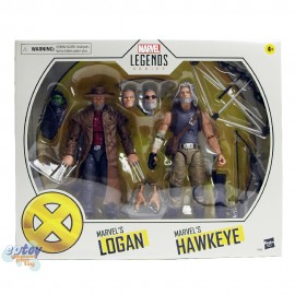 Marvel Legends Series 6-inch X-Men Marvel's Logan & Marvel's Hawkeye