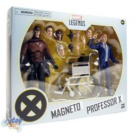 Marvel Legends Series 6-inch X-Men Magneto & Professor X