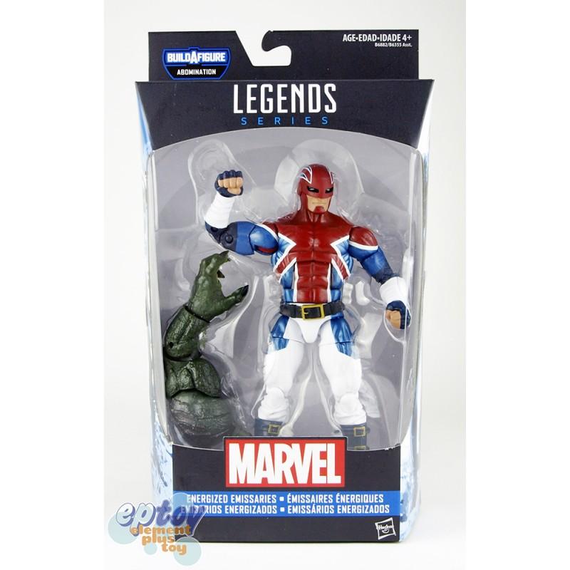 Marvel Captain America Build a Figure Abomination Series 6-inch Marvel's Captain Britain