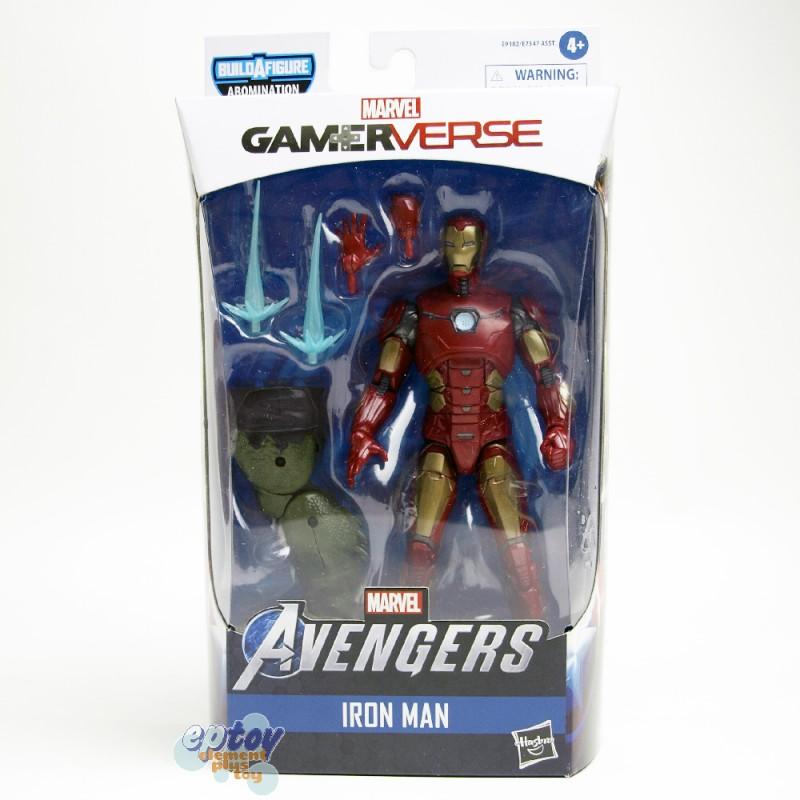 Marvel Gamer Verse Build a Figure BAF Abomination Series 6-inch Figures Set of 7
