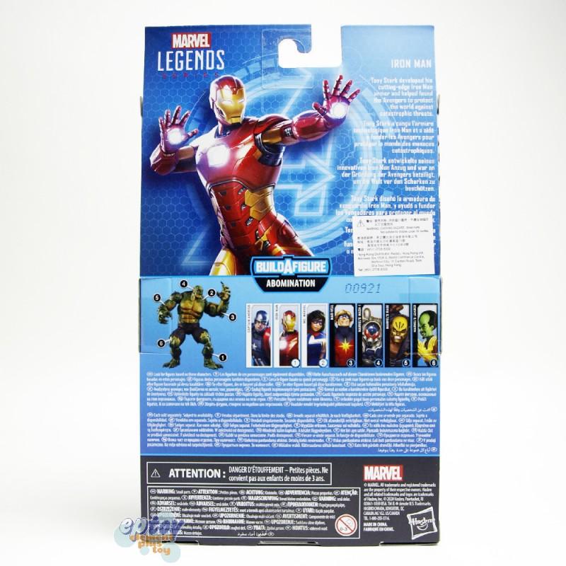 Marvel Gamer Verse Build a Figure BAF Abomination Series 6-inch Figures Set of 6
