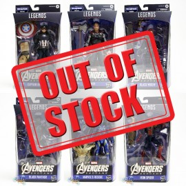 Marvel Avengers Endgame Build a Figure BAF Thanos Series 6-inch Figures Set of 6