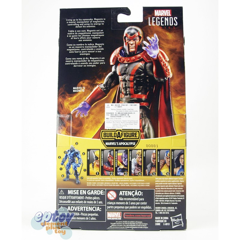 Marvel X-Man Build a Figure Marvel's Apocalypse Series 6-inch Figures Set