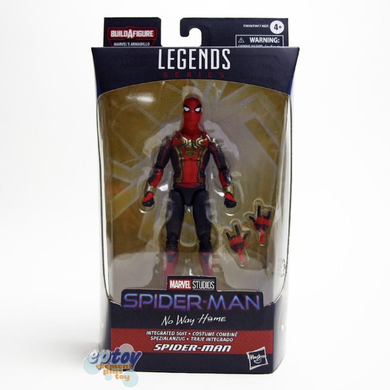 Marvel Spider-Man Build a Figure BAF Marvel's Armadillo Series 6-inch Spider-Man Integrated Suit