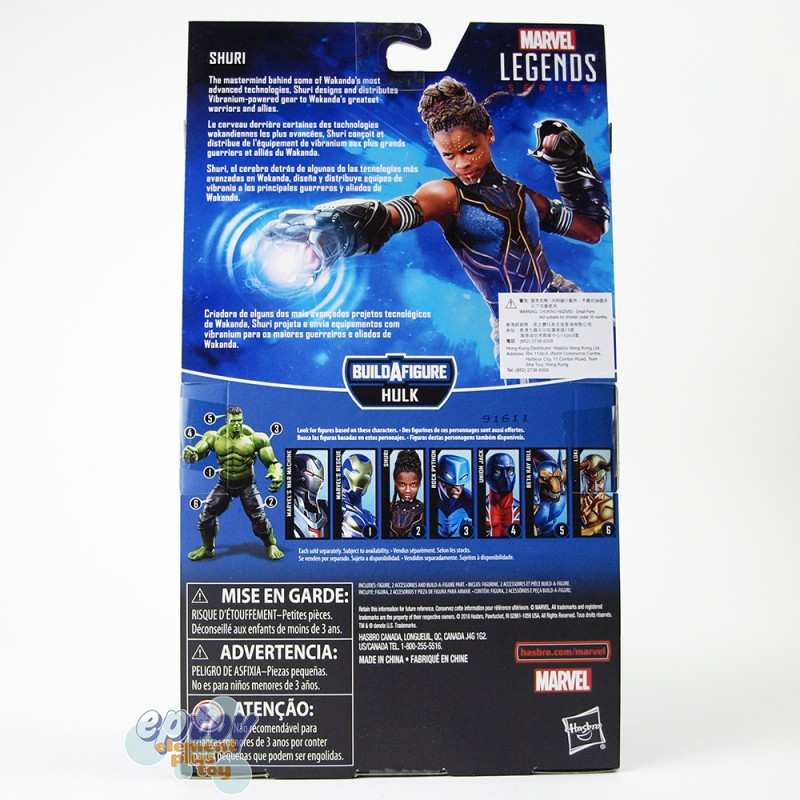 Marvel Avengers Build a Figure BAF Hulk Series 6-inch Figures Set of 6