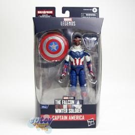Marvel The Falcon Winter Soldier Build a Figure BAF Captain America Flight Gear Series 6-inch Captain America Sam Wilson