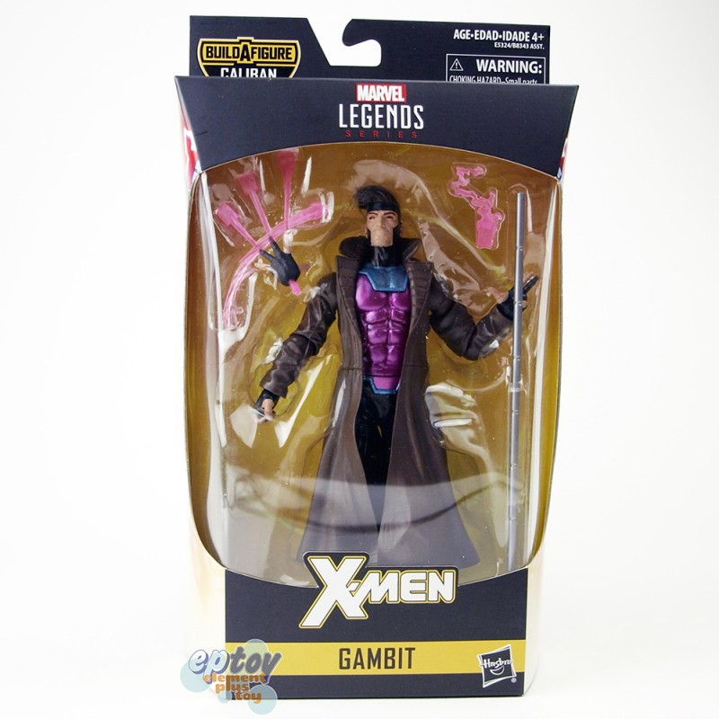 Marvel X-Man Build a Figure Caliban Series 6-inch Gambit