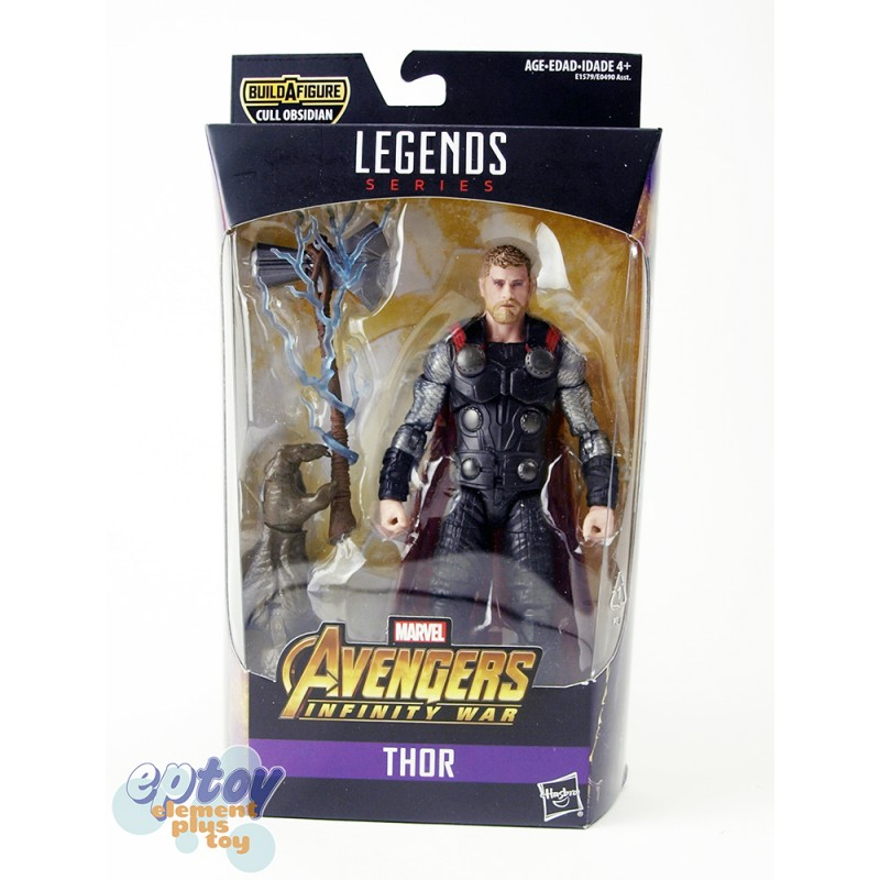 Marvel Avengers Ant-Man Build a Figure Cull Obsidian Series 6-inch Figures Set