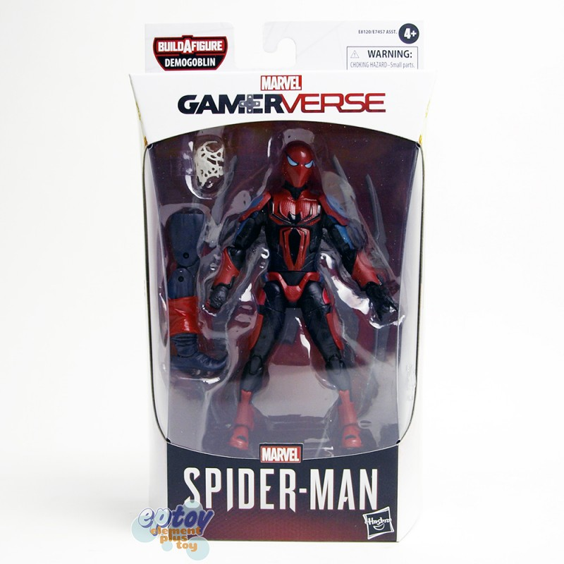 Marvel Spider-Man Build a Figure BAF Demogoblin Series 6-inch Spider-Man MK III