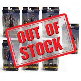 Marvel Eternals Build a Figure BAF Gilgamesh Series 6-inch Figures Set