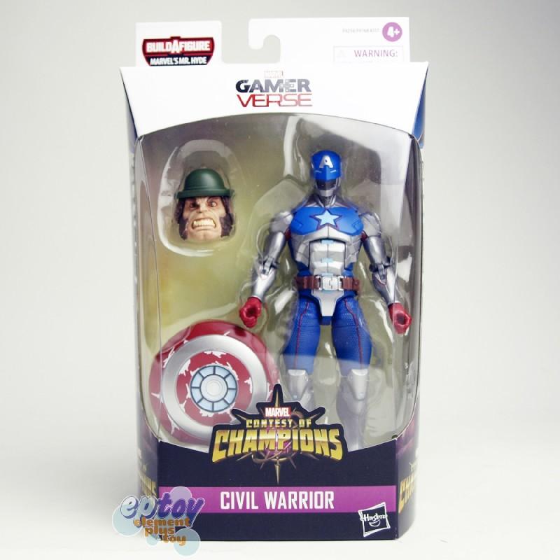 Marvel Shang-Chi Build a Figure BAF Mr.Hyde Series 6-inch Figures Set