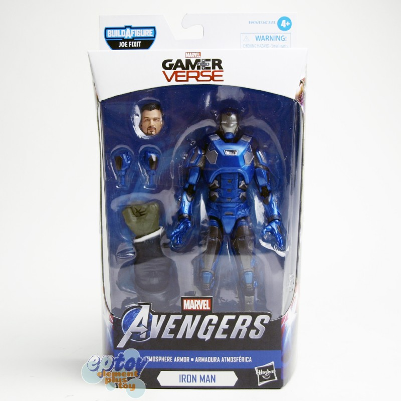 Marvel Avengers Gamer Verse Build a Figure BAF Joe Fixit Series 6-inch Atmosphere Armor Iron Man