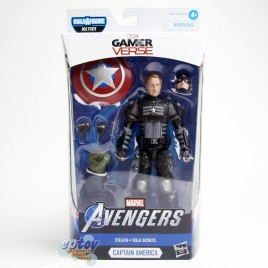Marvel Avengers Gamer Verse Build a Figure BAF Joe Fixit Series 6-inch Stealth Captain America
