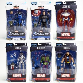 Marvel Avengers Gamer Verse Build a Figure BAF Joe Fixit Series 6-inch Figures Set of 6