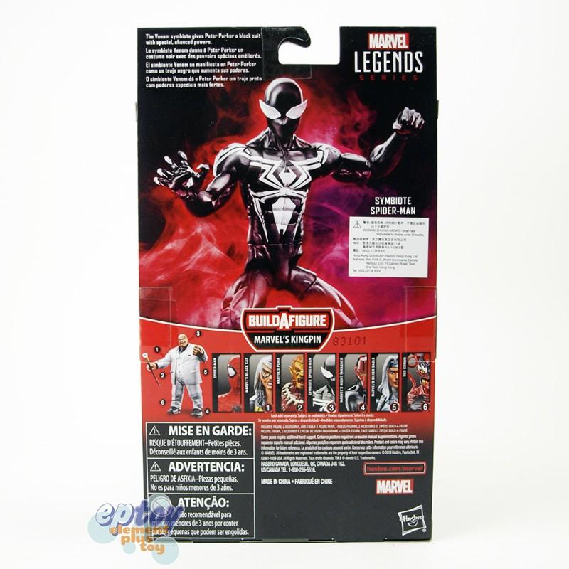 Marvel Spider-Man Build a Figure Marvel's Kingpin Series 6-inch Figures Set