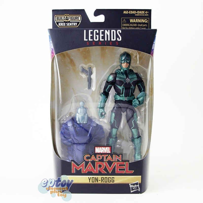 Marvel Captain Marvel Build a Figure Kree Sentry Series 6-inch Figures Set