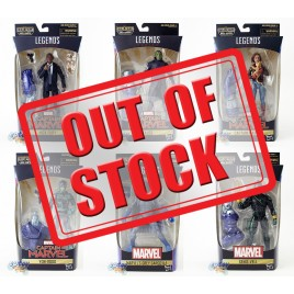 Marvel Captain Marvel Build a Figure Kree Sentry Series 6-inch Figures Set