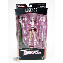 Marvel Spider-Man Build a Figure Marvel's Lizard Series 6-inch Gwenpool